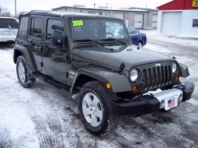 2008 jeep wrangler unlimited sahara for sale in watertown new york classified. Black Bedroom Furniture Sets. Home Design Ideas