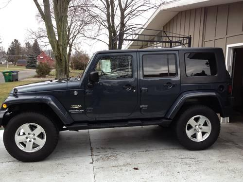 2008 jeep wrangler unlimited sahara for sale in sturgis michigan classified. Black Bedroom Furniture Sets. Home Design Ideas