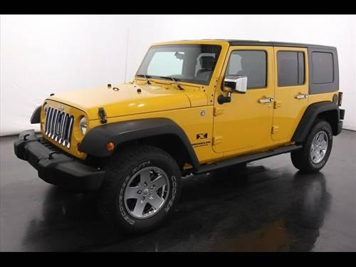 2008 jeep wrangler unlimited suv 4x4 x for sale in sparta michigan classified. Black Bedroom Furniture Sets. Home Design Ideas