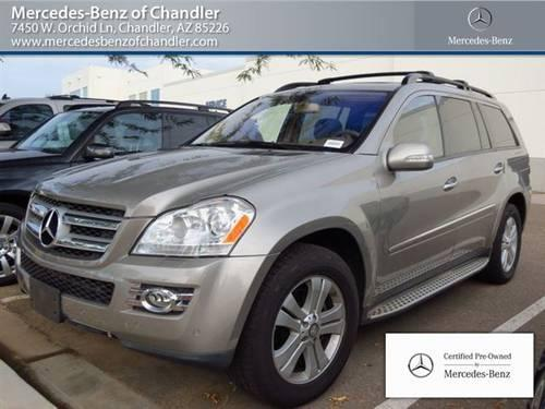 2008 mercedes benz gl class suv gl450 4matic 4dr 4 6l 4x4 for Mercedes benz of chandler arizona