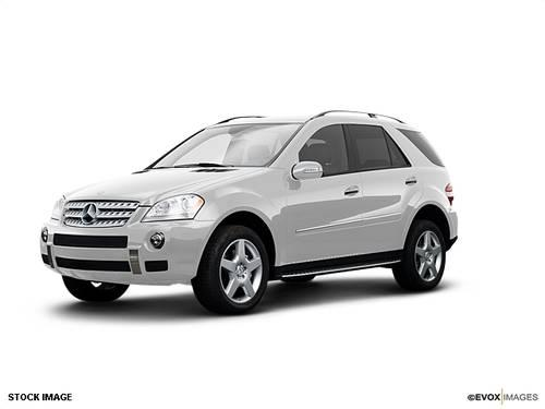 2008 Mercedes Benz M Class Suv Ml550 4dr Suv For Sale In