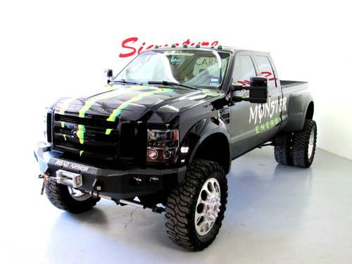 2008 Monster Engery Ford F450 King Ranch CC 4WD DWR 71K Miles for Sale