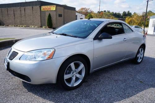 2008 Pontiac G6 Convertible Gt For Sale In Carrollton