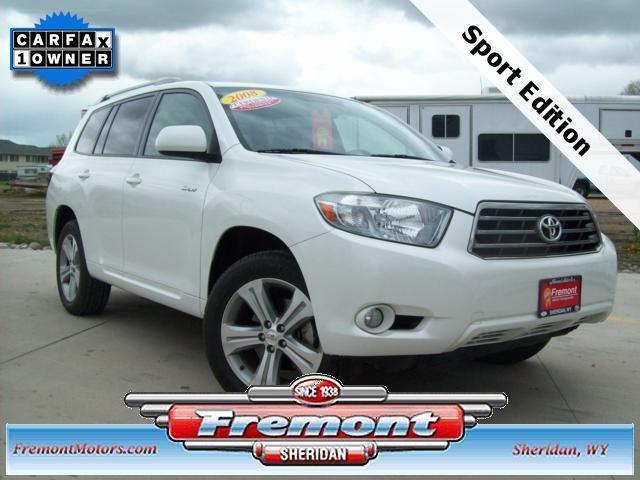 2008 Toyota Highlander Sport For Sale In Sheridan Wyoming
