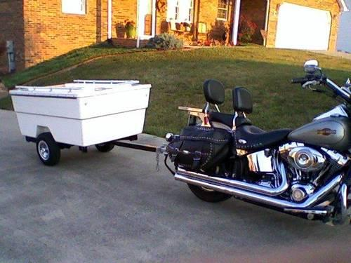 2009/2010 motorcycle trailer/camper