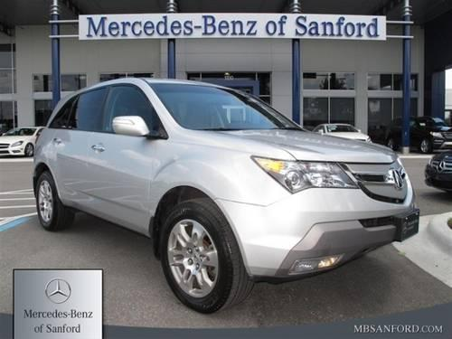 2009 Acura Mdx Suv Awd With Technology Package For Sale In Lake Forest