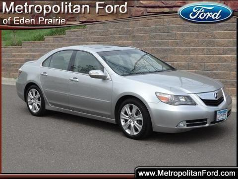 2009 acura rl 4 door sedan for sale in eden prairie. Black Bedroom Furniture Sets. Home Design Ideas