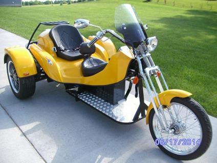 2009 apex custom vw trike for sale in big rapids michigan. Black Bedroom Furniture Sets. Home Design Ideas