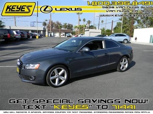 2009 audi a5 coupe 3 2l for sale in van nuys california. Black Bedroom Furniture Sets. Home Design Ideas