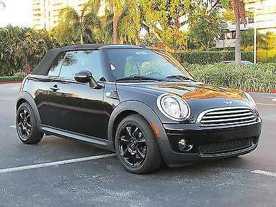 2009 black mini cooper convertible for sale in miami florida classified. Black Bedroom Furniture Sets. Home Design Ideas