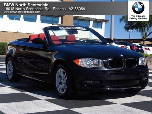 2009 BMW 1 Series Convertible 2dr Conv 128i Convertible
