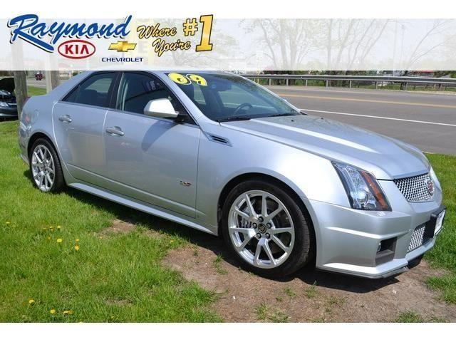 2009 cadillac cts v 4d sedan base for sale in antioch illinois classified. Black Bedroom Furniture Sets. Home Design Ideas