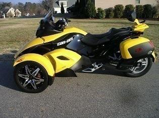 š š š ▁ ► • ‡2009 Can-Am Spyder