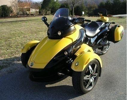 2009 Can-Am Spyder..dgvsdd..2009 Can-Am Spyder