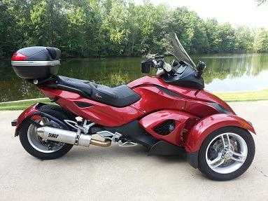 2009 Can Am Spyder Like New