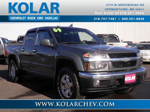 2009 chevrolet colorado lt 4x4 lt 4dr crew cab w 1lt for sale in duluth minnesota classified. Black Bedroom Furniture Sets. Home Design Ideas
