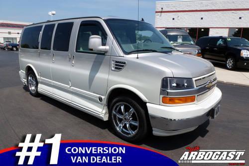 2009 chevy conversion van