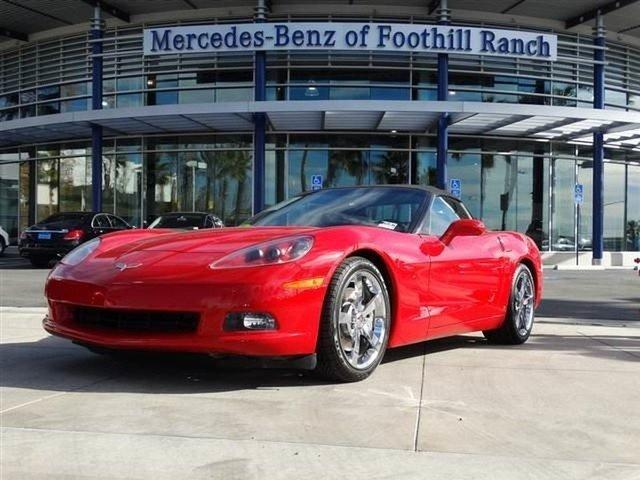 2009 chevrolet corvette 2dr convertible w 4lt for sale in for Foothill ranch mercedes benz