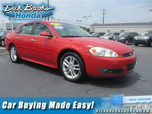 2009 chevrolet impala 4dr car ltz for sale in greer south. Black Bedroom Furniture Sets. Home Design Ideas