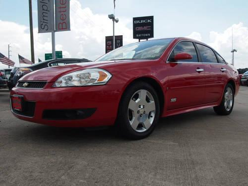 2009 chevrolet impala sedan ss for sale in baytown texas. Black Bedroom Furniture Sets. Home Design Ideas