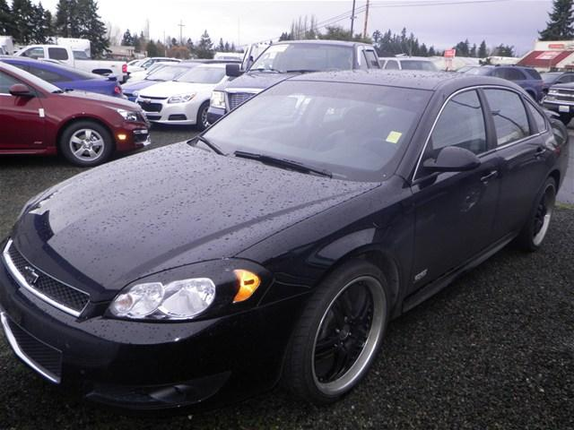 2009 chevrolet impala ss 4dr sedan for sale in tacoma. Black Bedroom Furniture Sets. Home Design Ideas
