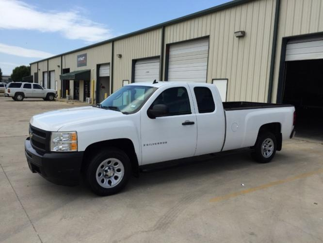 2009 chevrolet silverado 1500 2wd ext cab 134 0 work truck ltd avail for sale in fort worth. Black Bedroom Furniture Sets. Home Design Ideas
