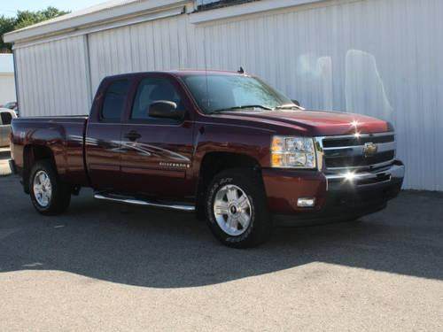 2009 chevrolet silverado 1500 extended cab pickup 4x4 lt for sale in new era michigan. Black Bedroom Furniture Sets. Home Design Ideas