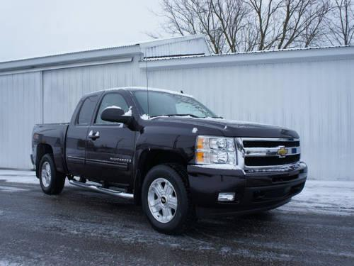 2009 chevrolet silverado 1500 extended cab pickup 4x4 ltz 4x4 for sale in new era michigan. Black Bedroom Furniture Sets. Home Design Ideas