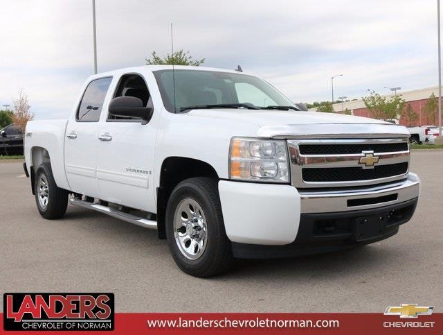 2009 chevrolet silverado 1500 ls 4x4 ls 4dr crew cab 5 8 ft sb for sale in norman oklahoma. Black Bedroom Furniture Sets. Home Design Ideas