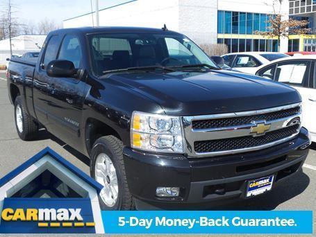 Carmax Extended Warranty >> 2009 Chevrolet Silverado 1500 LTZ 4x4 LTZ 4dr Extended Cab ...