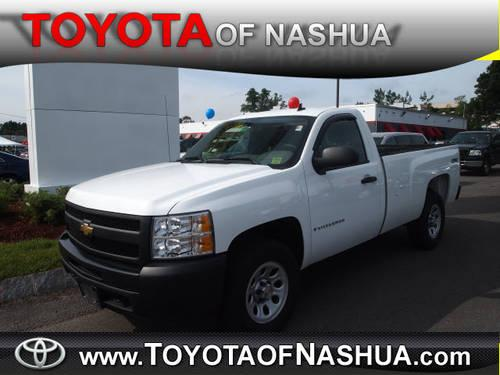 2009 chevrolet silverado 1500 regular cab 4x4 work truck for sale in nashua new hampshire. Black Bedroom Furniture Sets. Home Design Ideas