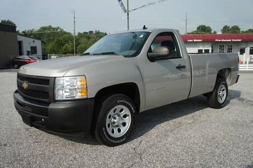 2009 chevrolet silverado 1500 regular cab pickup work truck for sale in carrollton maryland. Black Bedroom Furniture Sets. Home Design Ideas