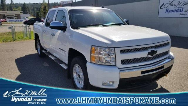 2009 chevrolet silverado 1500 work truck 4x4 work truck 4dr crew cab sb for sale in spokane. Black Bedroom Furniture Sets. Home Design Ideas
