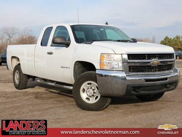 2009 chevrolet silverado 2500hd work truck 4x2 work truck 4dr extended cab sb for sale in norman. Black Bedroom Furniture Sets. Home Design Ideas