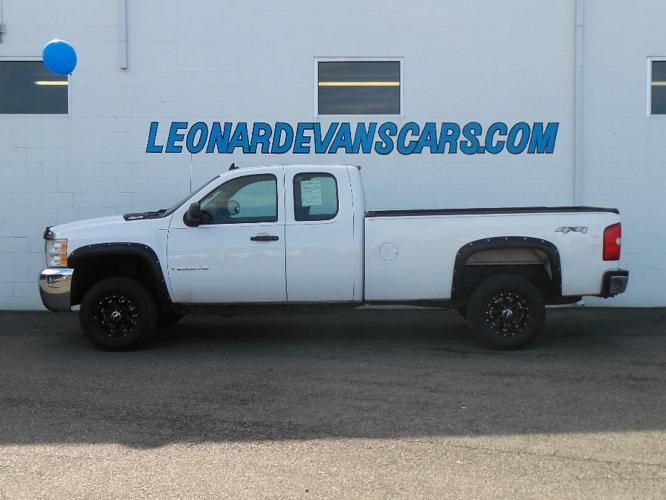 2009 chevrolet silverado 2500hd work truck 4x4 work truck 4dr extended cab sb for sale in. Black Bedroom Furniture Sets. Home Design Ideas