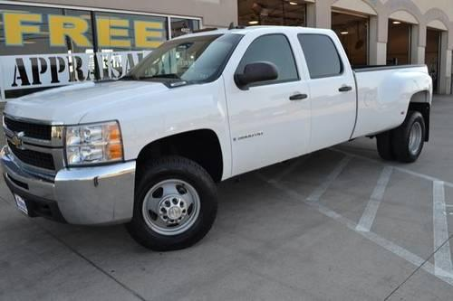2009 chevrolet silverado 3500hd crew cab pickup drw work truck for sale in tyler texas. Black Bedroom Furniture Sets. Home Design Ideas