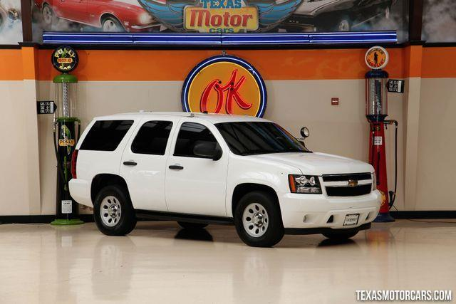 2009 Chevrolet Tahoe Special Service 4x4 Special