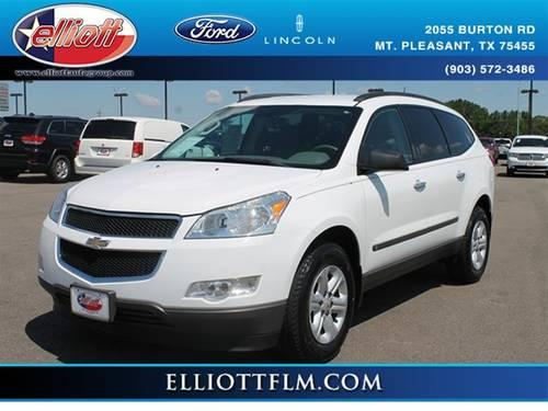 2009 chevrolet traverse suv ls for sale in mount pleasant texas classified. Black Bedroom Furniture Sets. Home Design Ideas
