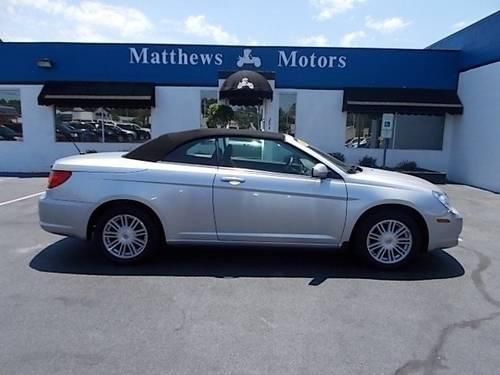2009 chrysler sebring convertible touring convertible for
