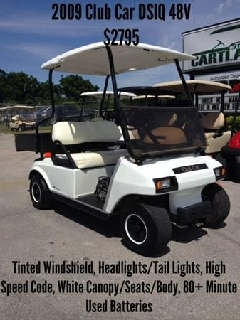 2009 Club Car DS IQ 48V - for Sale in Lakeland, Florida ...