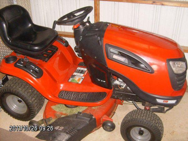 Craftsman Yt 3000 Lawn Tractor : Craftsman yts sold shelby oh for sale in