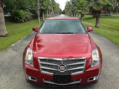 2009 cts 4 cadillac awd red hid headlights sedan 3 6. Black Bedroom Furniture Sets. Home Design Ideas