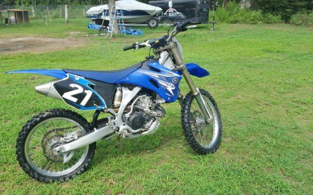 2009 Dirt bike Yamaha 250 for Sale in New Caney, Texas Classified | AmericanListed.com