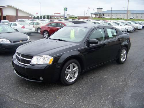 2009 dodge avenger r t black metallic auto v6 34k miles for sale in lanton missouri classified. Black Bedroom Furniture Sets. Home Design Ideas