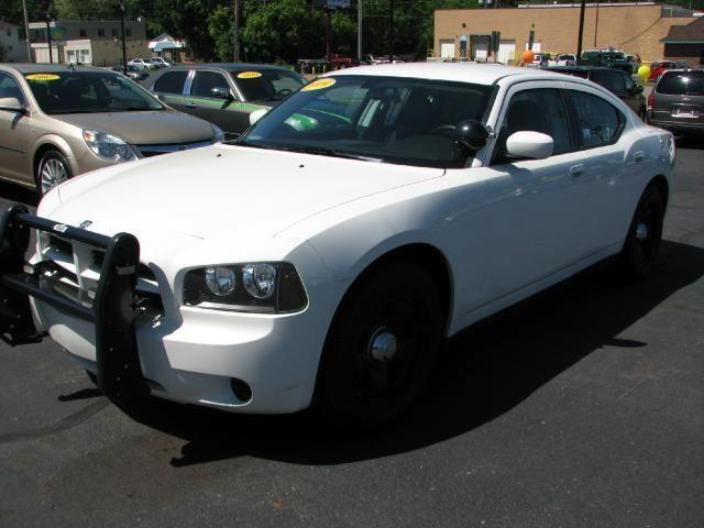2009 Dodge Charger Police Car White 50k Mi For Sale In
