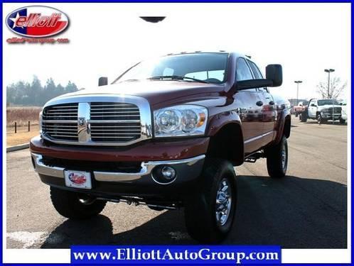 2009 dodge ram 3500 pickup truck 4wd quad cab 140 5 slt for Elliott motors mt pleasant tx