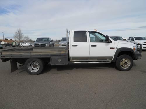 2009 dodge ram 4500 hd chassis truck quad cab st slt laramie for sale in cairo oregon. Black Bedroom Furniture Sets. Home Design Ideas
