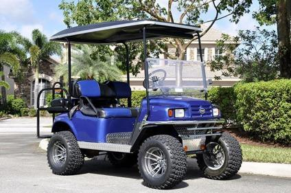 2009 EZgo Golf Cart with Trailer