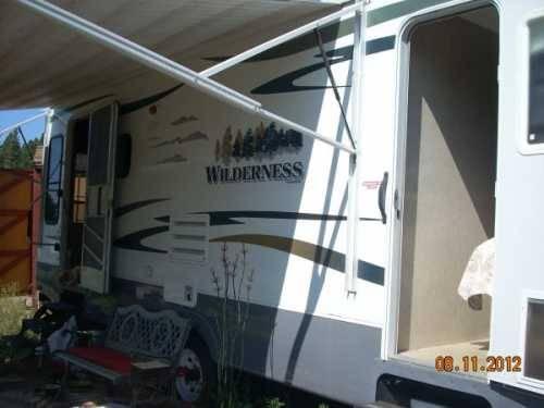 2009 Fleetwood Wilderness 260 Rls Travel Trailer In Otis