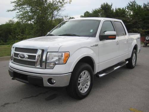 2009 ford f 150 crew cab 4x4 lariat loaded leather dvd. Black Bedroom Furniture Sets. Home Design Ideas